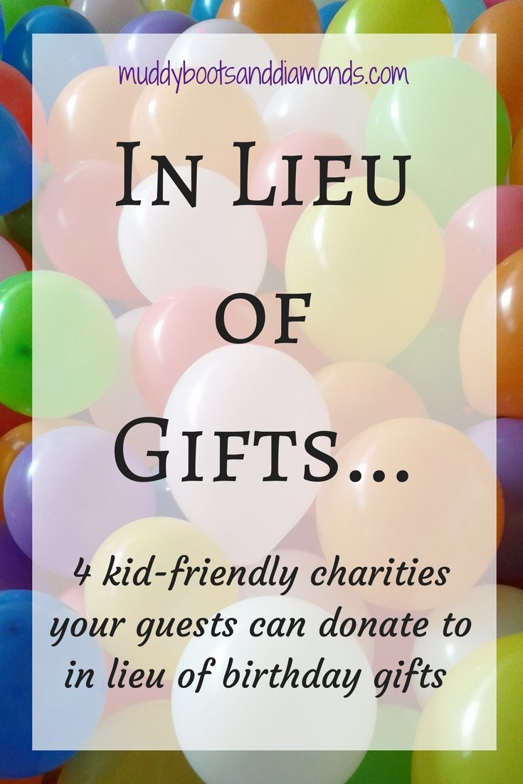 Kid friendly charities muddy boots and diamonds for Crafts to donate to charity