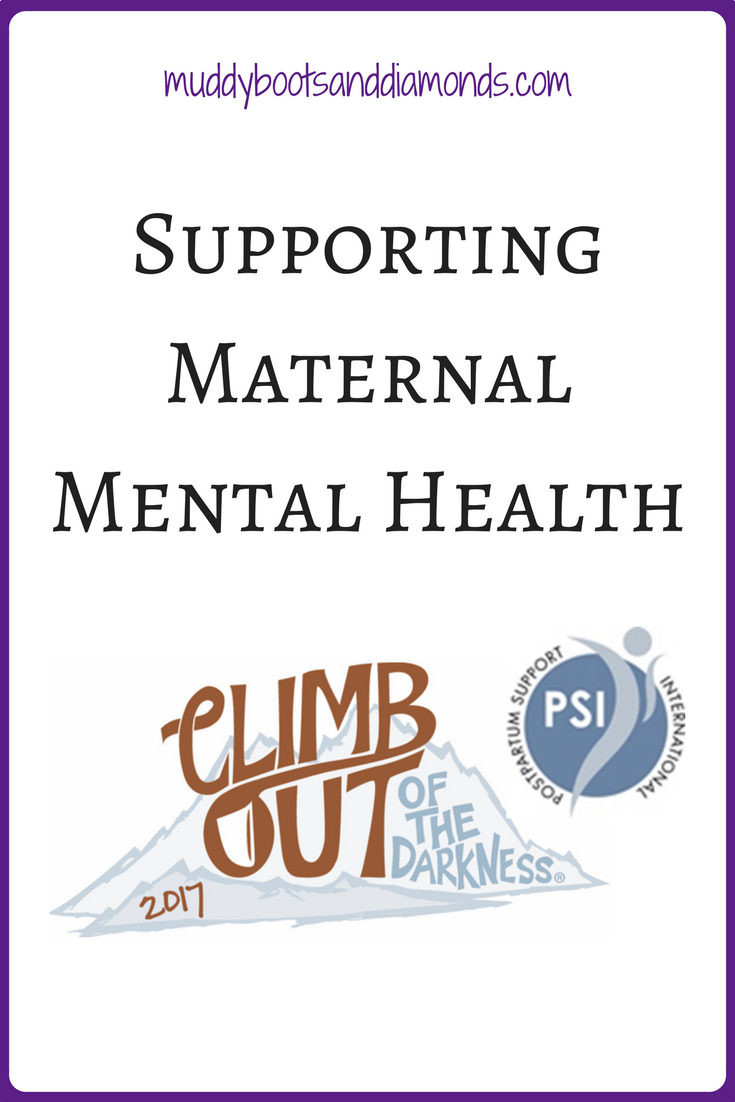 Support Maternal Mental Health • Muddy Boots and Diamonds